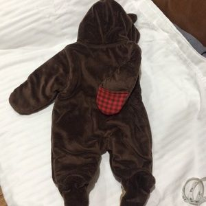 Carter's One Pieces - Carter's NB Baby Winter Bunting Bear